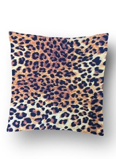 Lyn Home & Decor Leopar Yastık Kılıfı Renkli